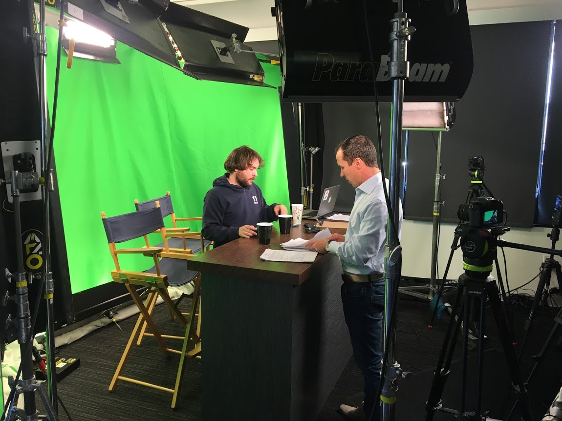 Kevin Allen MyStartup Live green screen D Lowe Playbook.jpg
